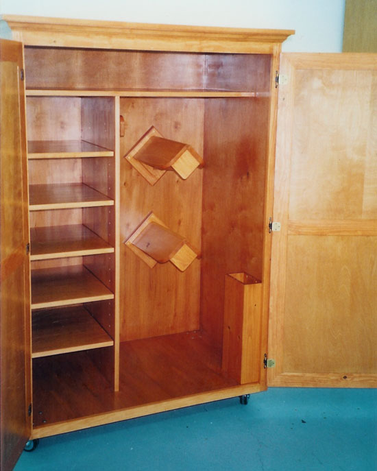 David r fowler custom tack trunks friends for Tack cabinet plans
