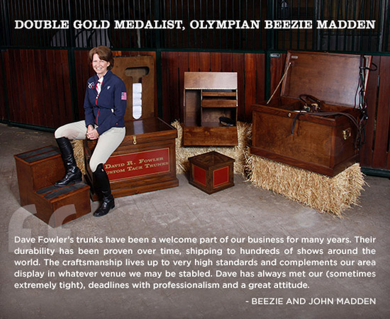 Beezie Madden U.S. Olympic Double-Gold Medalist