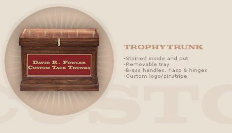 LARGE TROPHY TRUNK: $950