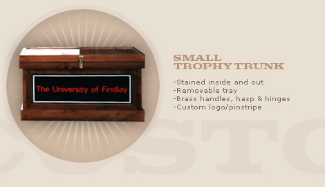 SMALL TROPHY TRUNK: $850