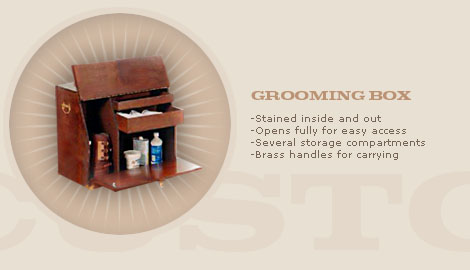 GROOMING/WALL BOX: $350