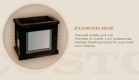 FLOWER/PLANTER BOX: $150